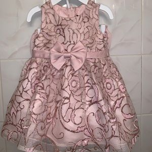 Rare editions baby dress 3-6 months